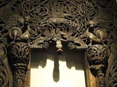 Viking church doorway, Oslo by gowersaint, via Flickr