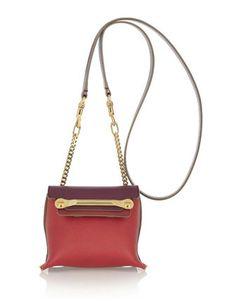 CHLOE Clare Mini Textured-Leather Shoulder Bag