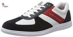 Tommy Hilfiger D2285anny 1c3, Sneaker Basses Homme, Multicolore (Rwb), 41 EU - Chaussures tommy hilfiger (*Partner-Link)