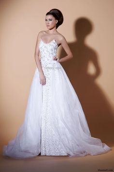 Tamara Nasr Wedding Dress, Lebanese Designer