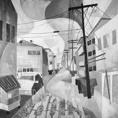 Animator takes on Acrylic : Pete Oswald's Westside | Abduzeedo Design Inspiration