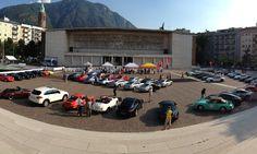 Piazza Tribunale – Festeggiamento 50° Compleanno Porsche 911