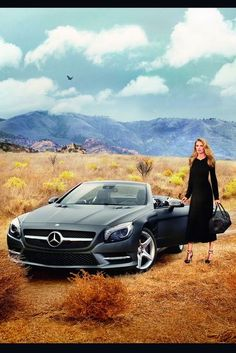 Lara Stone. Mercedes Benz Fashion Week. Celebrity Cars.