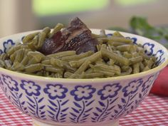 Cooked To Death Green Beans Recipe : Trisha Yearwood : Food Network - FoodNetwork.com