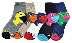 Dinosaur Socks, Sock Animals, Cute Socks, Kids Socks, Kawaii Clothes, T Rex, Hosiery, Cool Designs, Ankle