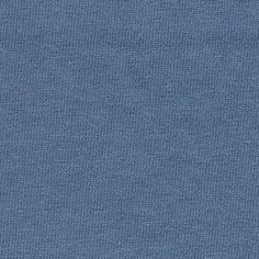 Blue Dusty Cotton Jersey Knit Fabric