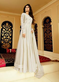 http://www.sareesaga.com/index.php?route=product/product&product_id=37506 Work:Embroidered Style:Anarkali Suit Shipping Time:10 to 12 Days Occasion:Party Wedding Fabric:Net Colour:Off White Customer Support : +91-7285038915, +91-7405449283