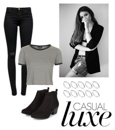 """""""Untitled #38"""" by ootd4you on Polyvore featuring J Brand, Topshop and ASOS"""