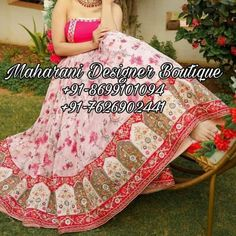 "Shop from latest collection of Lehengas for women & girls buy online at Maharani Designer Boutique."" 👉 CALL US : + 91 - 86991- 01094 or Whatsapp DESIGNER LEHENGA WORK – Handwork COLOURS Available In All Colours Fine quality fabric #punjabisuitsonlineboutique #maharaniboutique #topboutiquesinpatiala #chandigarhboutiquesalwarkameez #boutiqueinjalandhar #punjabisuitsboutiqueinjalandhar #delhidesignerboutiquesonline #maharanidesignerboutique #designerboutiquesinjalandhar #canada #australia…"