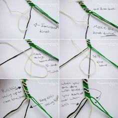 DIY , Vuelven las pulseras de hilos / Friendship Bracelets , Fácil y Sencillo