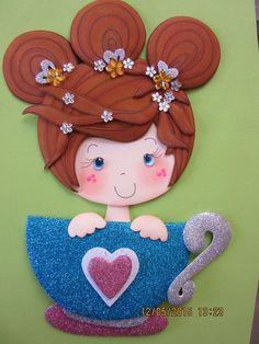 muñeca idea web con molde.: Map Crafts, Felt Crafts, Beach Rock Art, Foam Sheet Crafts, Art For Kids, Crafts For Kids, Foam Sheets, Decorate Notebook, Summer Activities For Kids