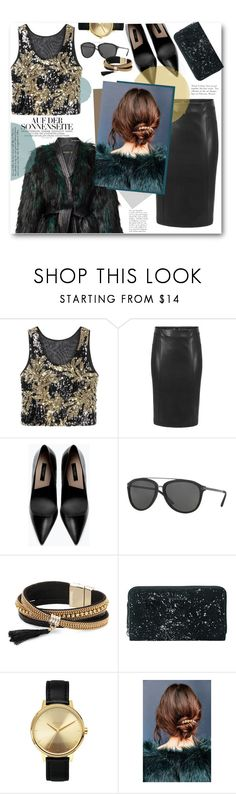 """""""SMARTBUYGLASSES contest"""" by anitadz ❤ liked on Polyvore featuring Zara, Versace, Simons, BeckSöndergaard, Nixon, Urban Outfitters and smartbuyglasses"""