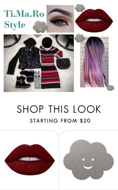 """""""My clothes, my style : follow me on Instagram @tiffanynonsense for fashion advice and questions✌🏻"""" by tmr3 ❤ liked on Polyvore featuring Lime Crime and LIND DNA"""