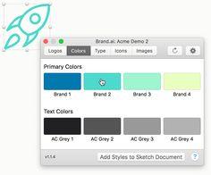 Sketch plugin | Brand.ai