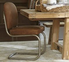 Archer Chair #potterybarn on sale for $399 ea. from 699. ea  avail in dark brown