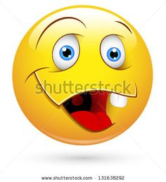 Emoticones Blushing Stock Photos, Images, & Pictures   Shutterstock
