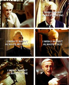 Draco Malfoy. Yup, this pin made me cry.