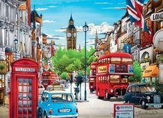 Puzzle Londres cabina ( Ref:  0000039339 )