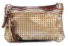 wardow.com - Tasche von Campomaggi, Lavata Leder bronze 24 cm