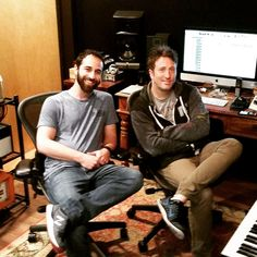 And that is a wrap! Another super productive studio session with Jimmy McGorman! #newmusic #LA