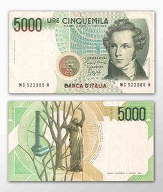 5.000 Lire   Italia