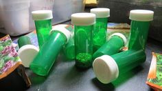 Vegetable seeds can last years when stored properly. Instead of dog-earing your seed packs and hoping for the best, save your extra seeds in these garden green bottles. The green hue protects them fro