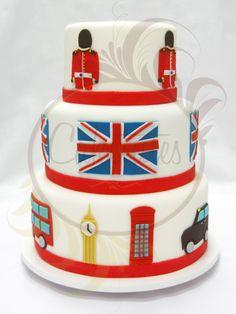 London England Cake by Caketutes Cake Designer    i want to learn to make something like this!