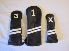 Sunfish leather golf headcovers are on the site now and ready for sale. Drivers are only $39.99 www.sunfishsales.com