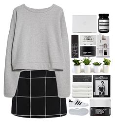 """""""#179"""" by oh-my-rainbow ❤ liked on Polyvore featuring adidas, MANGO, Korres, Linum Home Textiles, Koh Gen Do, Chisel & Mouse, NARS Cosmetics and Aesop"""