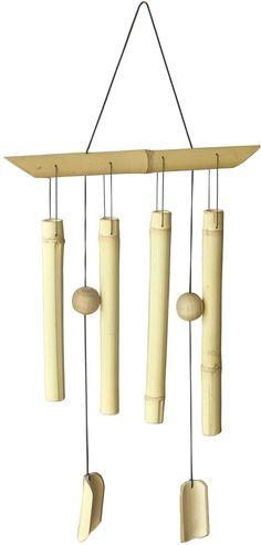 bambus deko deko aus bambus wanddeko windspiel