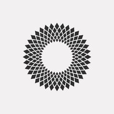 A New Minimal Geometric Design Every Day By DAILY MINIMAL