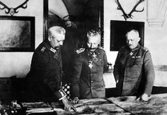 August 29, 1916 - Kaiser Summons Hindenburg and Ludendorff to Emergency Meeting in Berlin