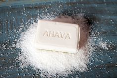 AHAVA's moisturizing dead sea soap cleanses and restores your skin's natural balance with dead sea minerals. Nourish your skin with a healthy glow. Sea Salt Soap, Salon Quotes, Mineral Salt, Dead Sea Minerals, Dead Sea Salt, Bar Soap, Face And Body, Body Care, Moisturizer