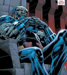Darkseid Chillin' like a villain