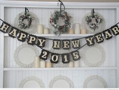 New Year Candles Wallpaper | New Year Wallpapers