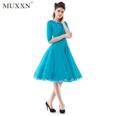 Merry Christmas   Promotion Vintage 50s Cocktail Fit and Flare Dress    Click on the link there will be more surprises You can get as much as you want Click Link:http://www.amztk.com/3042 Like our page: https://www.facebook.com/muxxngarment/ Share this product with your SNS (Facebook, youtube,pinterest,instagram etc)
