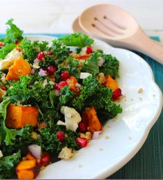 Kale and Quinoa Sweet Potato Salad Recipe-  Don't let their sweet nature fool you! Sweet potatoes' nutritiousness is off the charts, making sweet potatoes a wholesome option for children, adults, diabetics and anyone interested in improving their health. Sponsored.