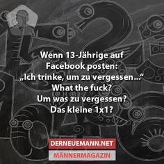 13-Jährige auf FB #derneuemann #humor #lustig #spaß