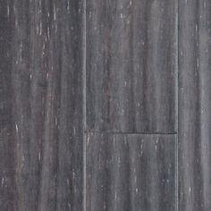 "Lumber Liquidators Option C:  Morning Star 1/2"" x 5"" Silver Strand Handscraped Click Bamboo"
