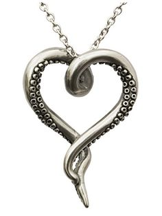 Ahhhh because I love octopus things!! Sea Lover by Controse (Silver) #InkedShop