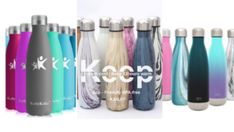 Best Water Bottle Review - World's Best Water Bottle Reviews. Modern Water Bottles, Fancy Water Bottles, Best Reusable Water Bottle, Best Water Bottle