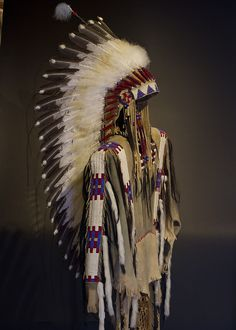 This War Shirt is pictured with the Victory headdress but the headdress is sold separately. The shirt is handcrafted and painted with the highest quality materials and the utmost care is used by artis