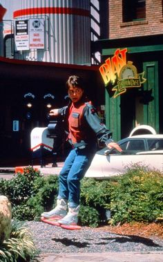 Hoverboard in Back To The Future Part II (1989)