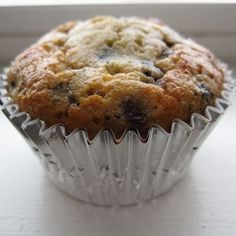 Coconut Flour Blueberry Muffins #glutenfree