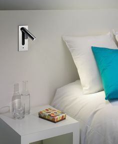 Fuse -wall reading light.  So simple and chic.  Love this!