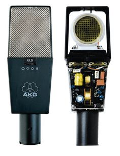 AKG C 414 B-ULS One of the rules of the conventional wisdom rule of thums in recording is that you should get one highend microphone (say in the $1k range)... and then a number of less expensive microphones that might have other purposes. Well, this might be the highend microphone for me.. particularly given how well it does on guitars...