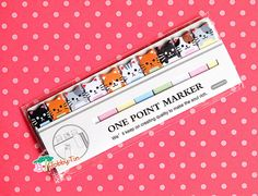 Cute Cat Sticky Notes - Kawaii post-it notes, sticky memo, kitty, furball, cute animals
