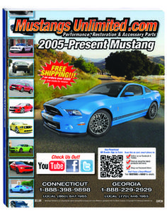 Ford Mustang Parts Catalogs Free