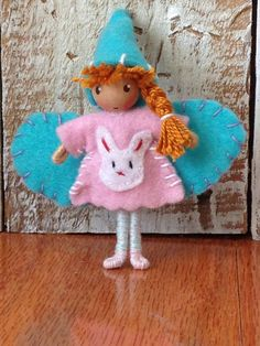 Easter Waldorf Bendy Fairy Doll