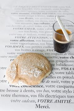 Merci . . Hits my hot buttons; Intriguing words, beautiful breads, and a smart coffee!